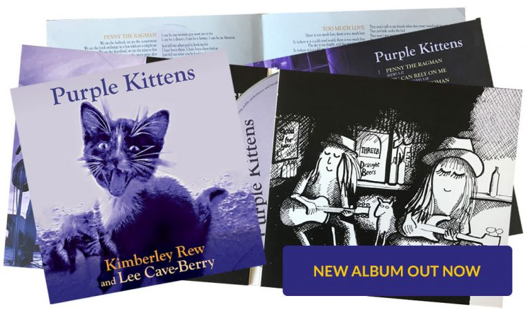 Purple Kittens album by Kimberley Rew and Lee Cave-Berry