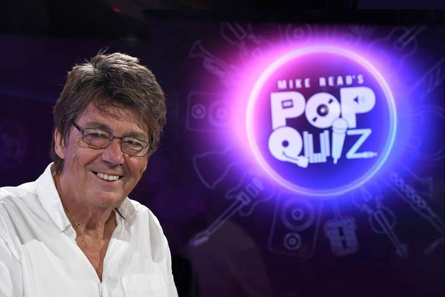 Mike Read's Pop Quiz with Kimberley Rew
