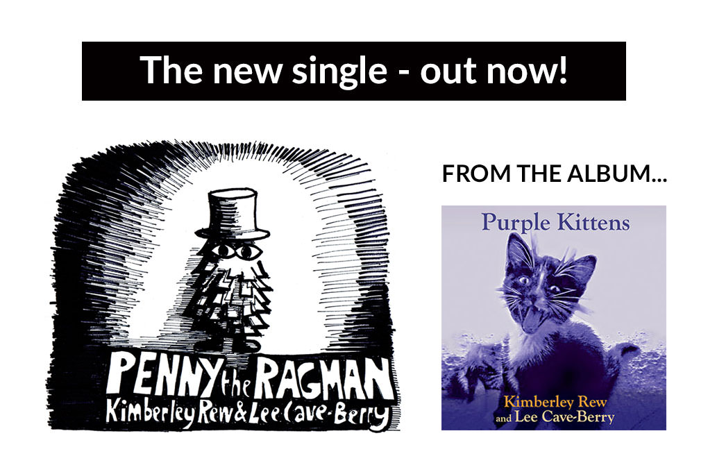 Penny The Ragman single by Kimberley Rew and Lee Cave-Berry