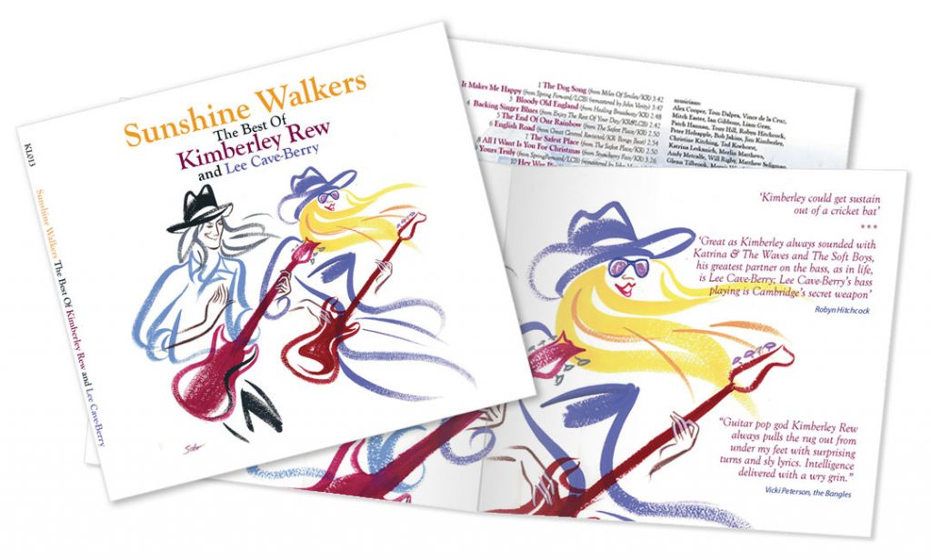 Sunshine Walkers new album from Kimberley Rew and Lee Cave-Berry